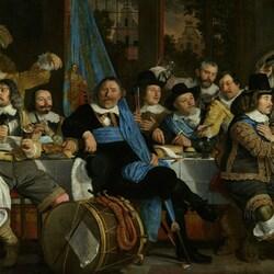 Пазл онлайн: Торжество по поводу подписания Мюнстерского договора