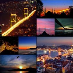 Пазл онлайн: Ночь в Турции