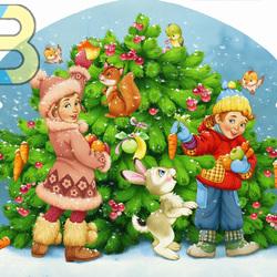Пазл онлайн: Новогоднее