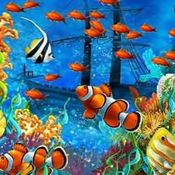 Пазл онлайн: Тайны морского дна