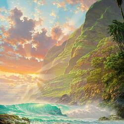 Пазл онлайн: Гаваи
