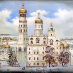 Пазл онлайн: Ивановская площадь Московского кремля