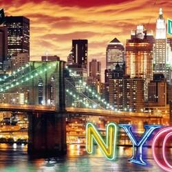 Пазл онлайн: Нью-Йорк