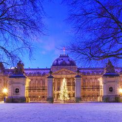 Пазл онлайн: Королевский Дворец в Брюсселе
