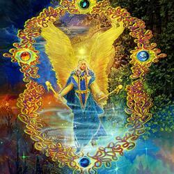 Пазл онлайн: Архангелы - посланники Божественного Начала