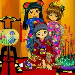 Пазл онлайн: В японском стиле