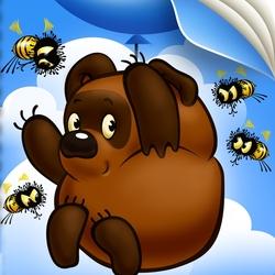 Пазл онлайн: Неправильные пчелы