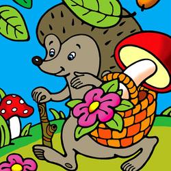 Пазл онлайн: За грибами