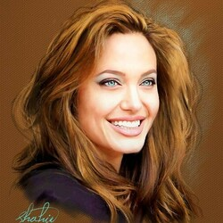Пазл онлайн:  Анджелина Джоли