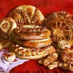 Пазл онлайн: Домашние пироги