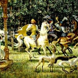 Пазл онлайн: Королевская охота