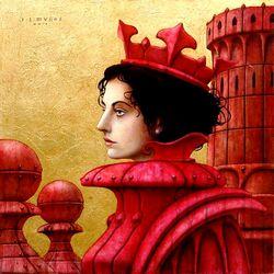 Пазл онлайн: Красная королева