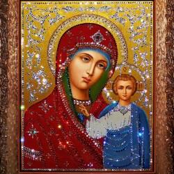 Пазл онлайн: Богородица Казанская