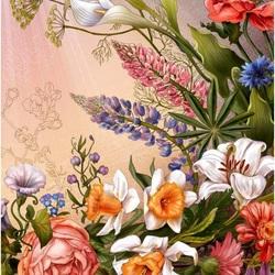 Пазл онлайн: Райские цветы
