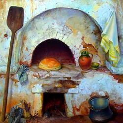 Пазл онлайн: Хлеб