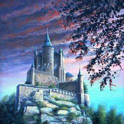 Пазл онлайн: Испания. Крепость Алькасар