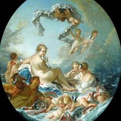 Пазл онлайн: Триумф богини Венеры