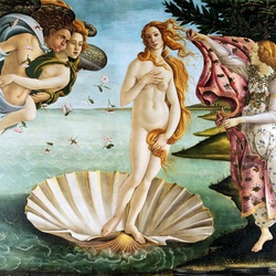 Пазл онлайн:  Рождение Венеры