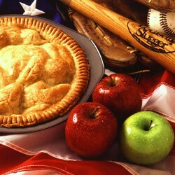 Пазл онлайн: Яблочный пирог