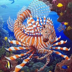 Пазл онлайн: Подводная артистка