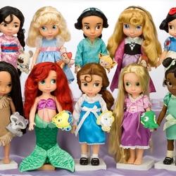 Пазл онлайн: Куклы принцессы