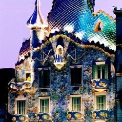 Пазл онлайн: Дом Бальо. Барселона