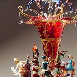 Пазл онлайн: Современное стекло из Мурано