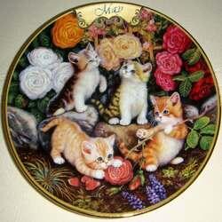 Пазл онлайн: Майские котята
