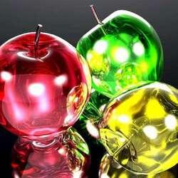 Пазл онлайн: Наливные яблочки