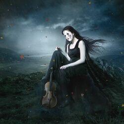 Пазл онлайн: Музыка дождя