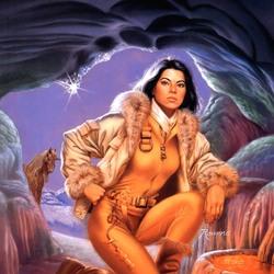 Пазл онлайн: В ледяной пещере