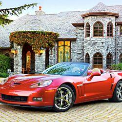 Пазл онлайн: Chevrolet Corvette