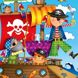 Пазл онлайн: Истинный пират