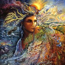 Пазл онлайн: Spirit of the Elements/Дух элементов