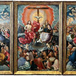 Пазл онлайн: Алтарь всех святых