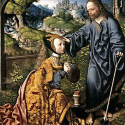 Пазл онлайн: Христос- садовник