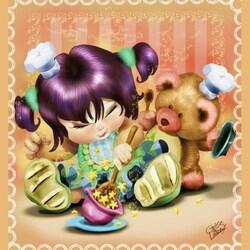 Пазл онлайн: Любимая игрушка