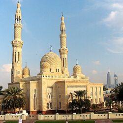 Пазл онлайн: Мечеть Дубаи