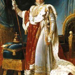 Пазл онлайн: Наполеон в коронационном одеянии