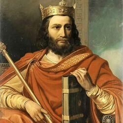 Пазл онлайн: Хильдеберт I, король Франции