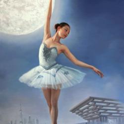 Пазл онлайн: В лунном свете