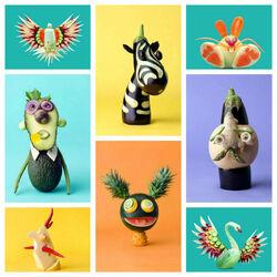 Пазл онлайн: Овощные