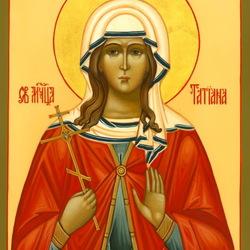 Пазл онлайн: Святая Татиана мученица