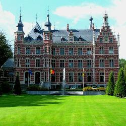 Пазл онлайн: Замок Вестерло. Бельгия