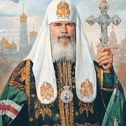 Пазл онлайн: Патриарх Московский и всея Руси Алексий