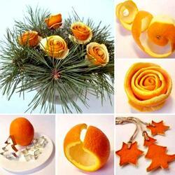 Пазл онлайн: Апельсиновые поделки