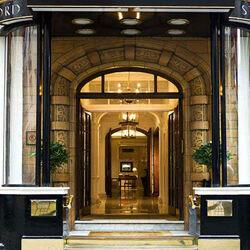 Пазл онлайн: Отель Стаффорд. Лондон. Парадный вход