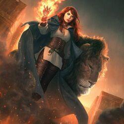 Пазл онлайн: Повелительница огня