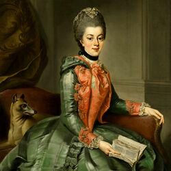 Пазл онлайн: Портрет принцессы Софии Фредерики Вельгельмины