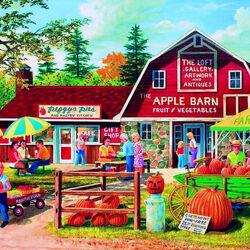 Пазл онлайн: Распродажа овощей